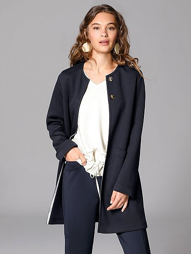 Margittes - Long jersey jacket with long sleeves