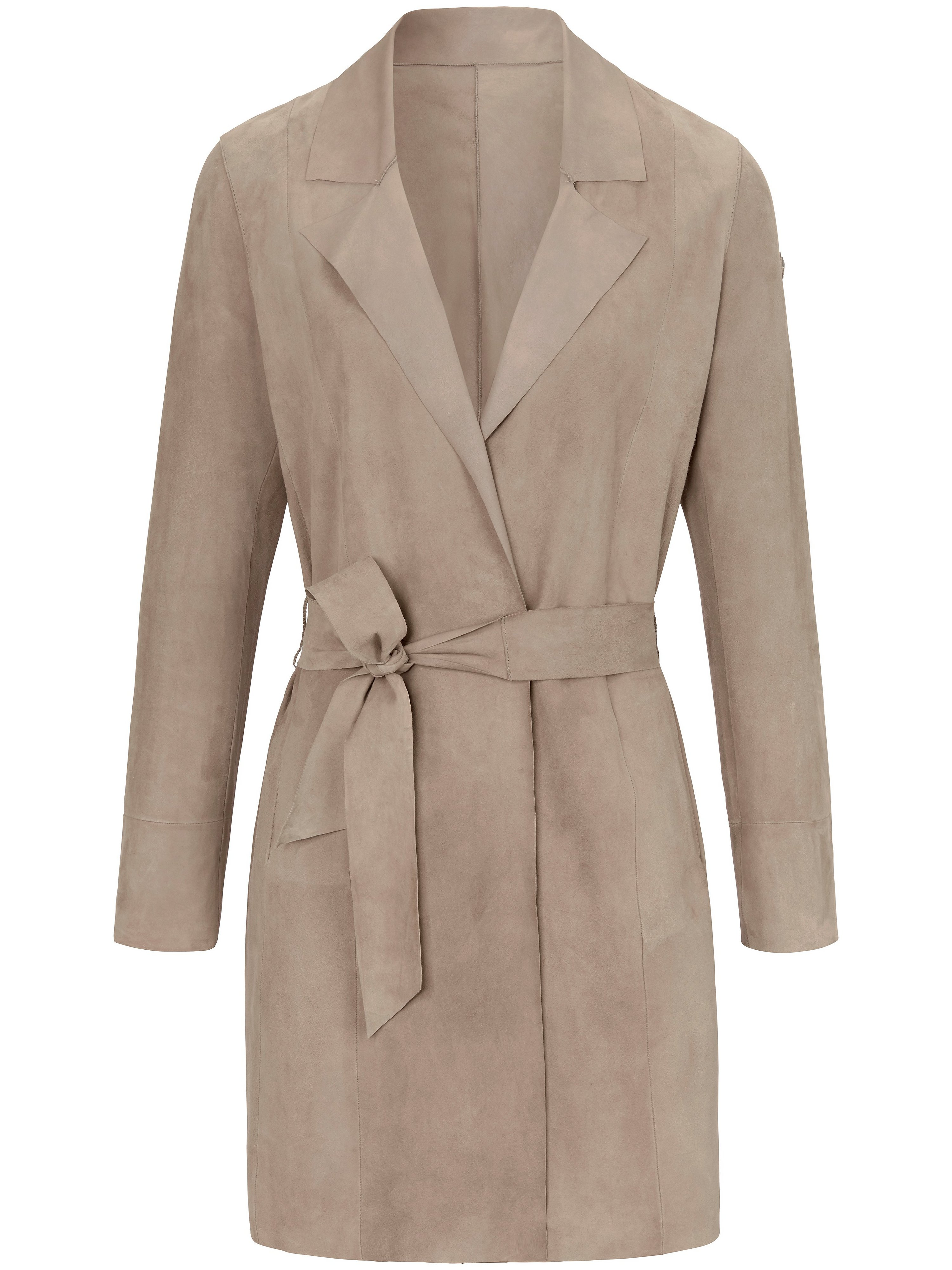Le manteau court cuir  Milestone beige taille 40