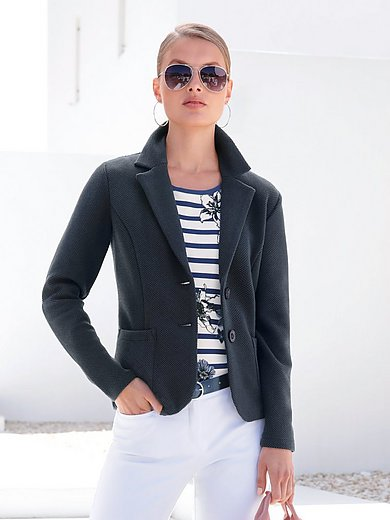 Betty Barclay - Jersey blazer with fine structure