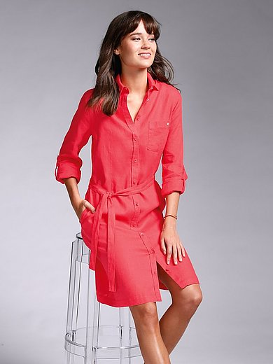 Brax Feel Good - Dress with long turn-up sleeves