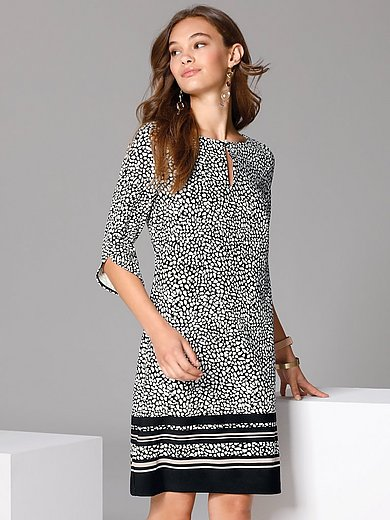 comma, - Dress with floral print