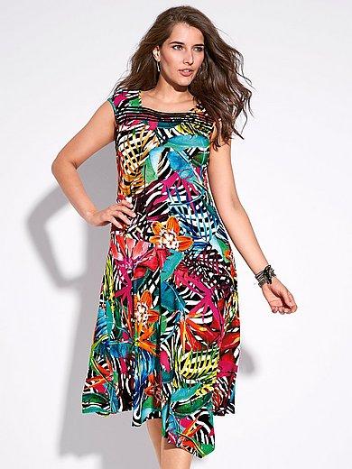 Doris Streich - Jersey-Kleid mit Karree-Ausschnitt