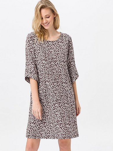 Green Cotton - Jersey dress with 3/4-length sleeves