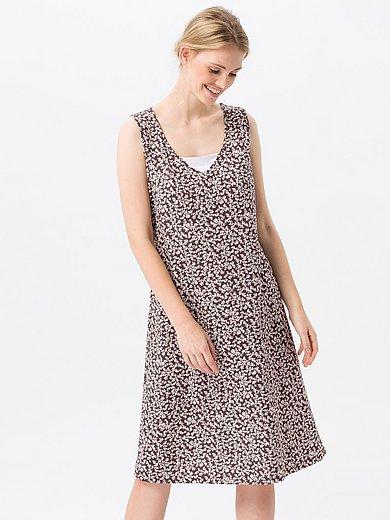 Green Cotton - Mouwloze jurk van 100% katoen met bloemenprint