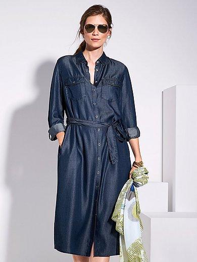 Samoon - La robe-chemise avec ceinture à nouer