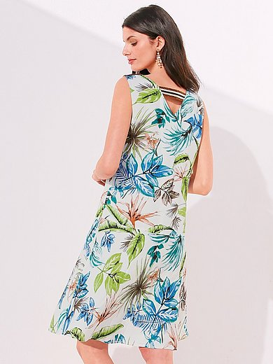 Betty Barclay - La robe à imprimé feuilles