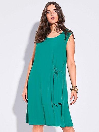 FRAPP - Mouwloze jurk in twee lagen