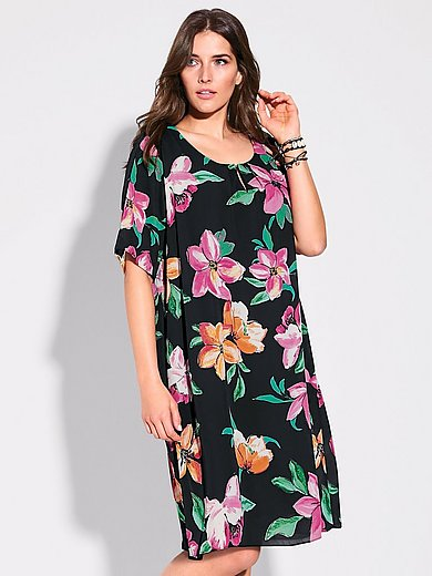 Via Appia Due - Dress with floral print