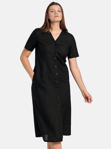 Anna Aura - Kleid aus 100% Leinen - Schwarz