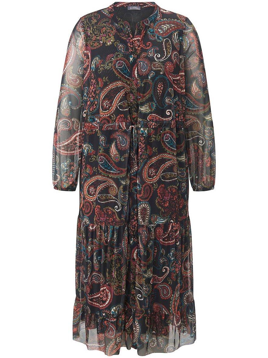samoon - Kleid in Maxi-Länge  mehrfarbig Größe: 44