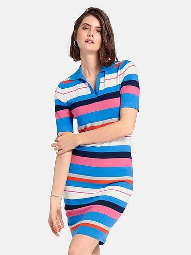 Looxent - La robe polo avec manches courtes