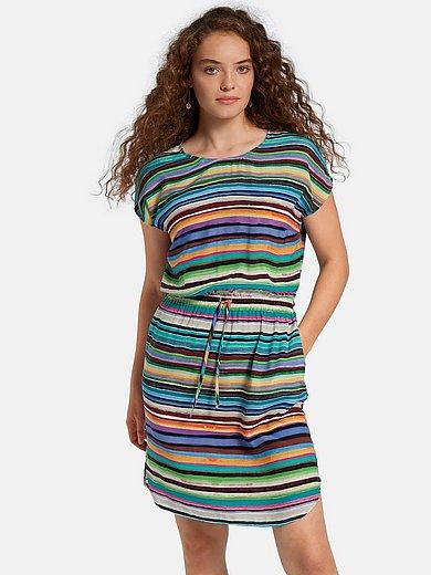Peter Hahn - Kleid mit überschnittener Schulter