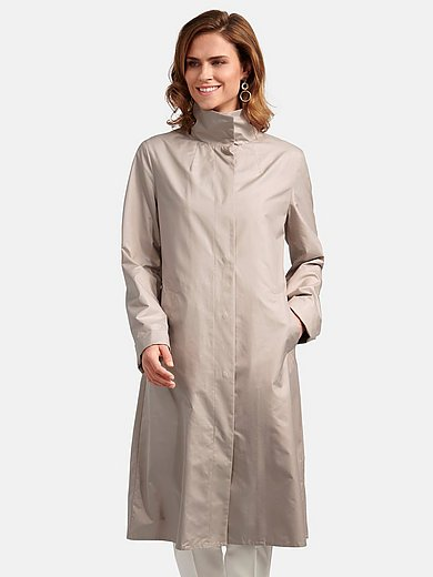 Basler - Lange jas met lange mouwen en drukknoopsluiting