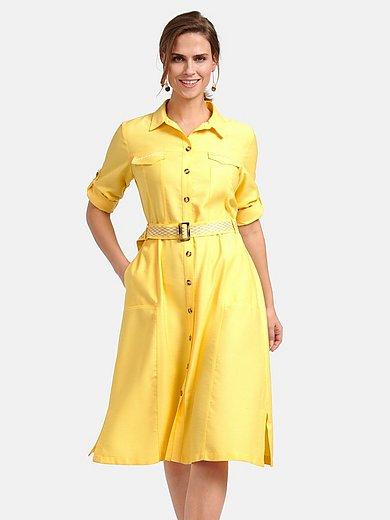Basler - Jurk in hemdblousemodel met 3/4-mouwen