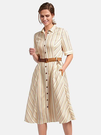 Basler - Shirt style dress with short sleeves