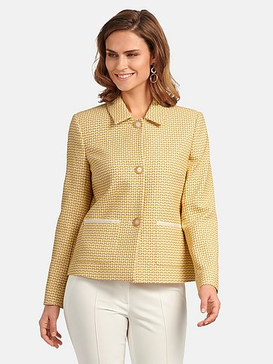 Basler - Blazer with jacquard pattern