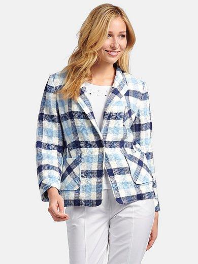 Basler - Blazer with 3/4-length fold-back sleeves