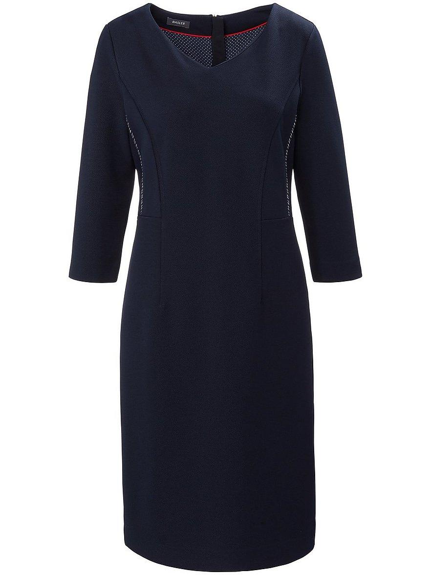basler - Kleid 3/4-Arm  blau Größe: 36
