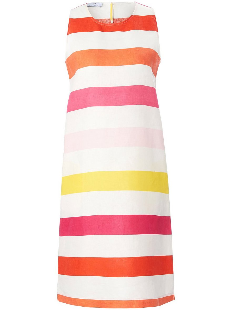 peter hahn - Ärmelloses Kleid  mehrfarbig Größe: 40