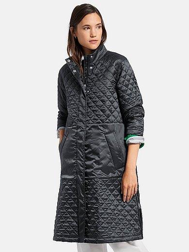 DAY.LIKE - Doorgestikte jas met blinde 2-weg-ritssluiting