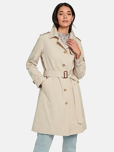 MYBC - Trench coat with front and back flap