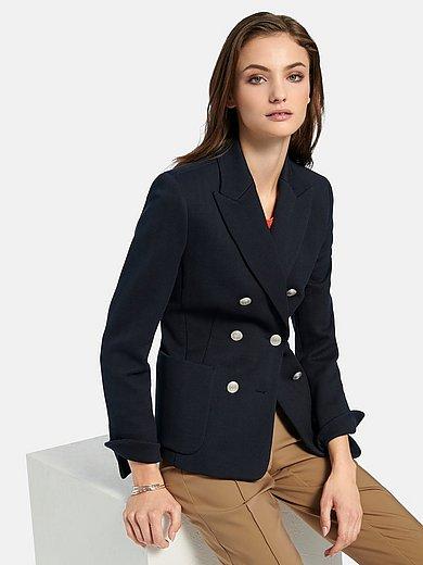 Fadenmeister Berlin - Jersey blazer with revere collar