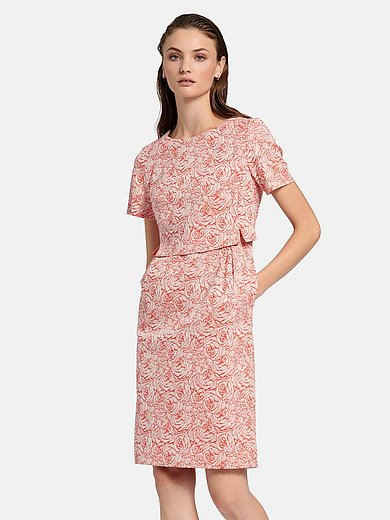 Fadenmeister Berlin - Dress in rose jacquard