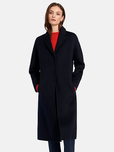 Fadenmeister Berlin - Coat in milled wool and cashmere blend