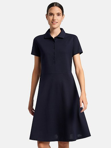 DAY.LIKE - Dress with short sleeves and polo collar