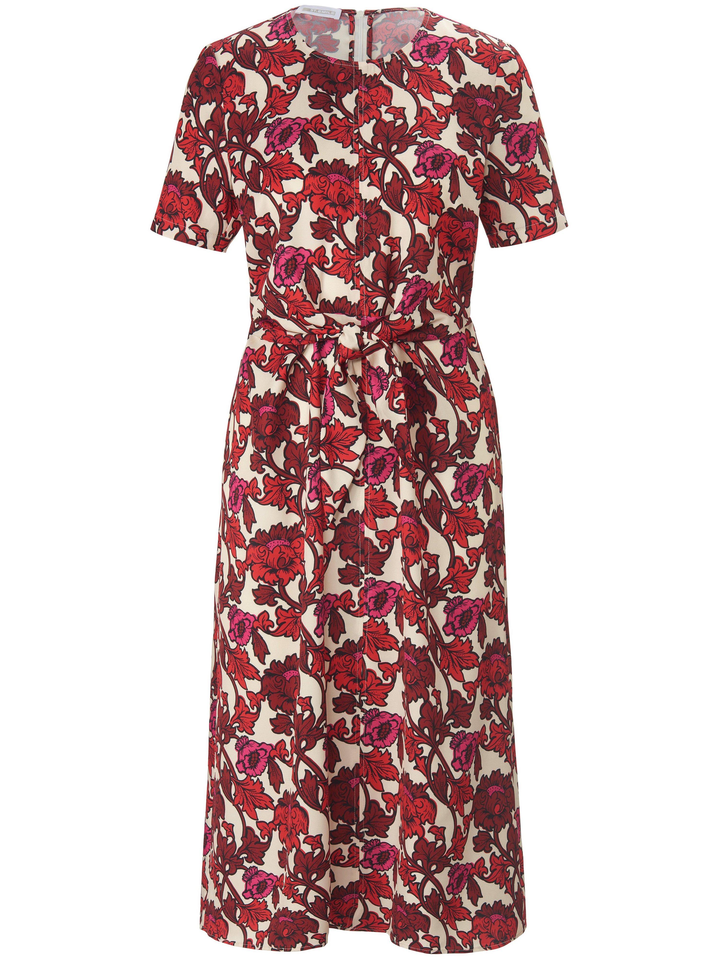 Dress short sleeves St. Emile white