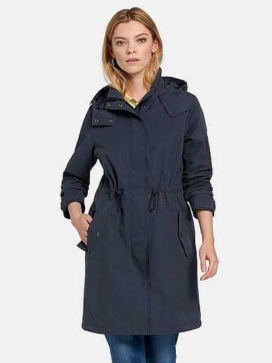 Barbour - Parka style coat with hood