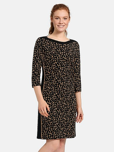 Betty Barclay - Jersey dress with 3/4-length sleeves and boat neck
