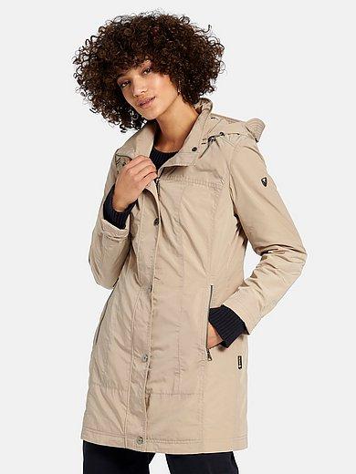 Fuchs & Schmitt - Long jacket with stand-up collar