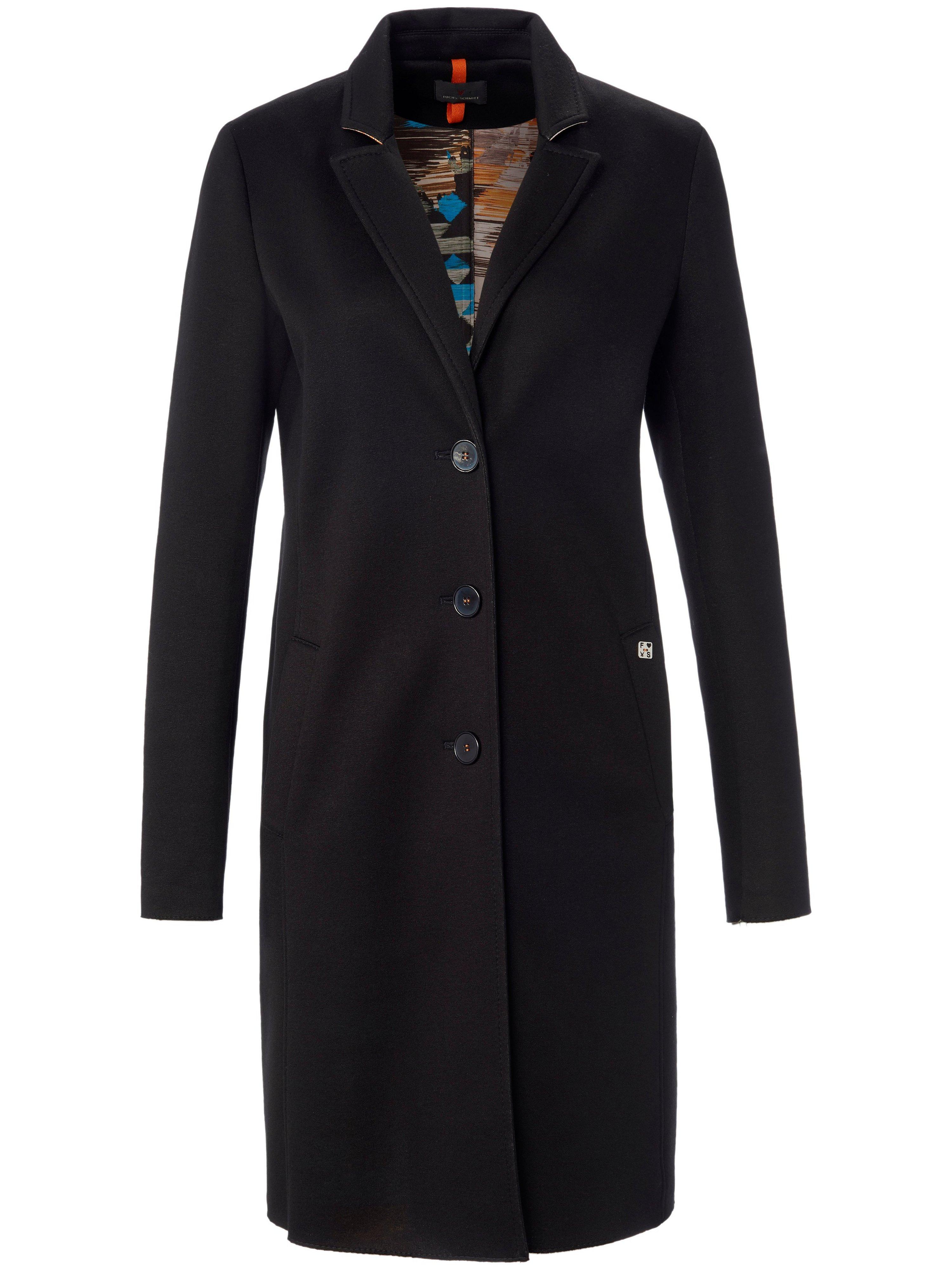 Le manteau 3/4 jersey scuba  Fuchs & Schmitt noir taille 48