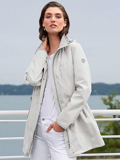 Green Goose - Windwerende en waterafstotende jas met capuchon