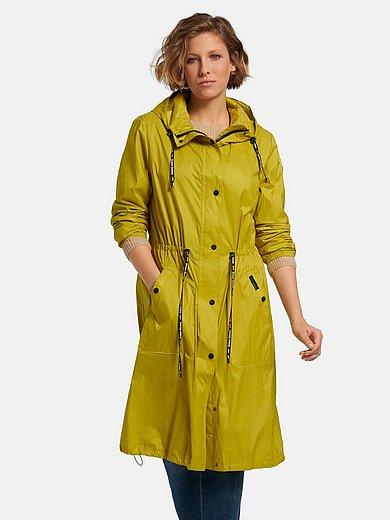 Green Goose - Windwerende en waterafstotende lichte lange jas