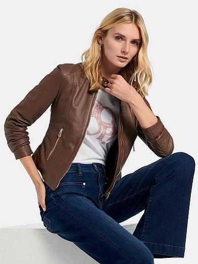 Joop! - Leather jacket in lambskin nappa
