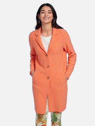 oui - Lange jas in recht model met reverskraag