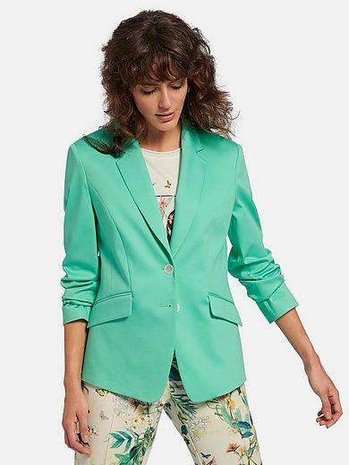 Gerry Weber - Le blazer en jersey avec long col tailleur