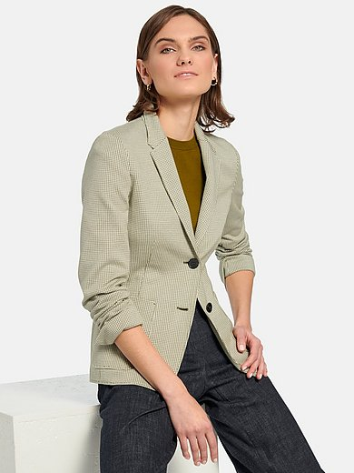 Windsor - Jersey blazer in 100% cotton