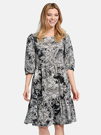 Riani - Dress in 100% cotton with floral print