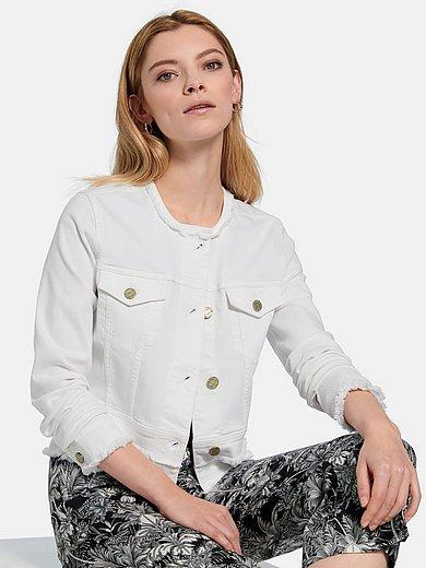 Riani - Denim jacket with fringes