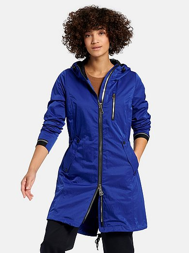 Manisa - Long jacket with hood