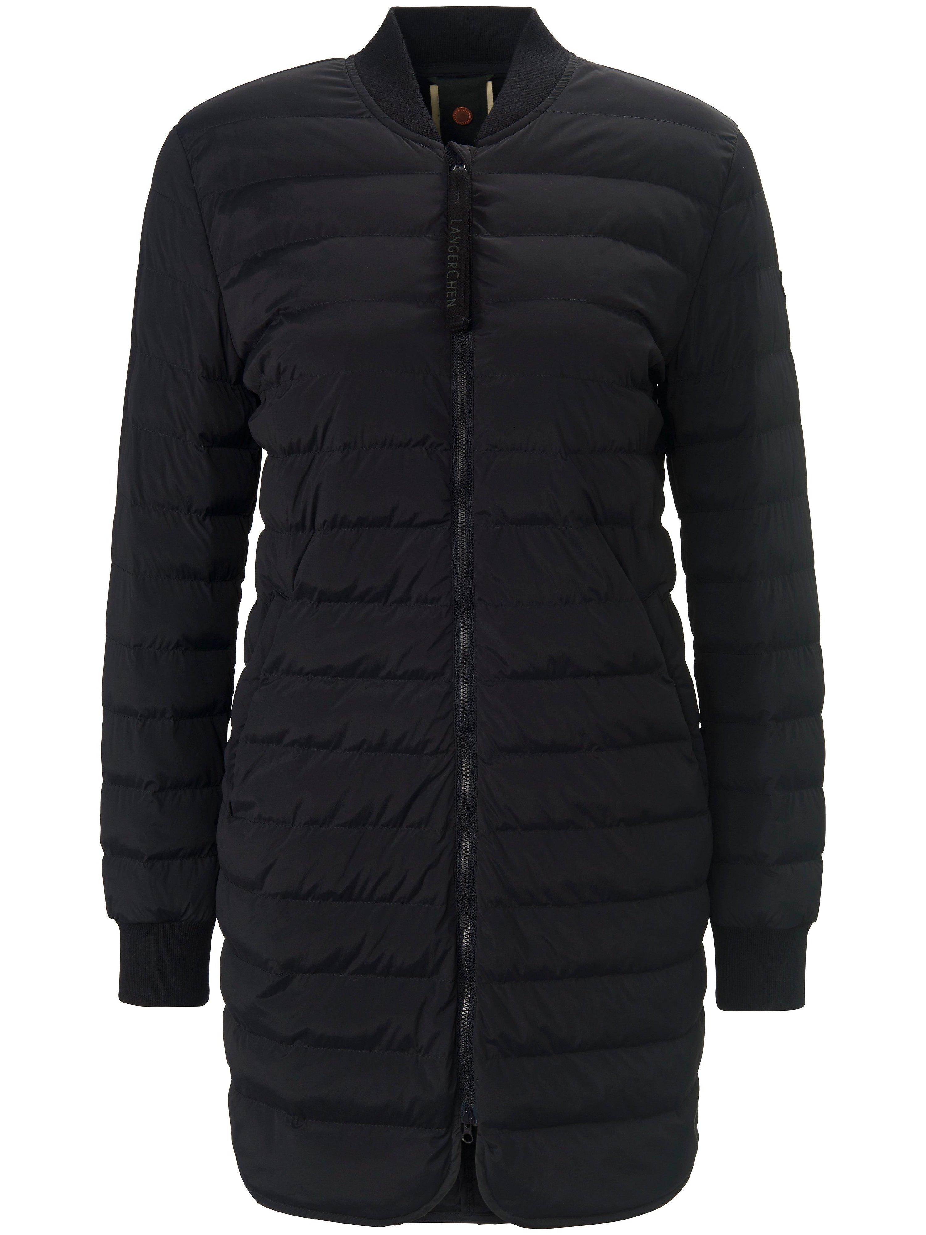 La longue veste matelassée coupe-vent bleu - LangerChen - Modalova