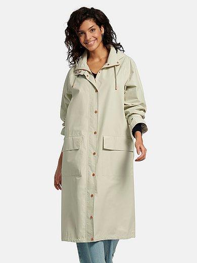 LangerChen - Frakke med aftagelig hætte