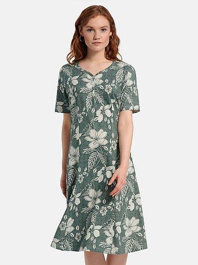 Green Cotton - La robe en jersey