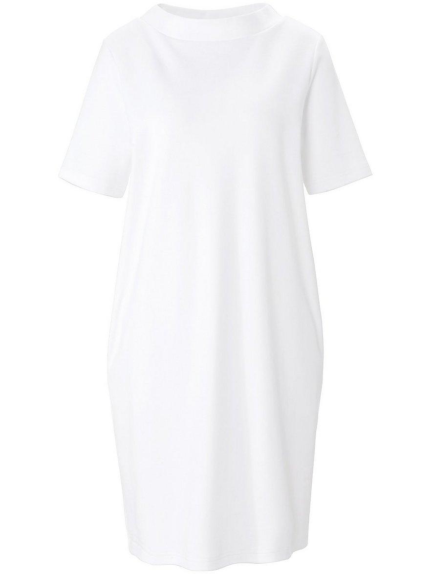 green cotton - Jersey-Kleid 1/2-Arm  weiss Größe: 40