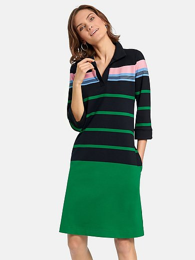 teeh`s - Polo dress with wider 7/8-length sleev