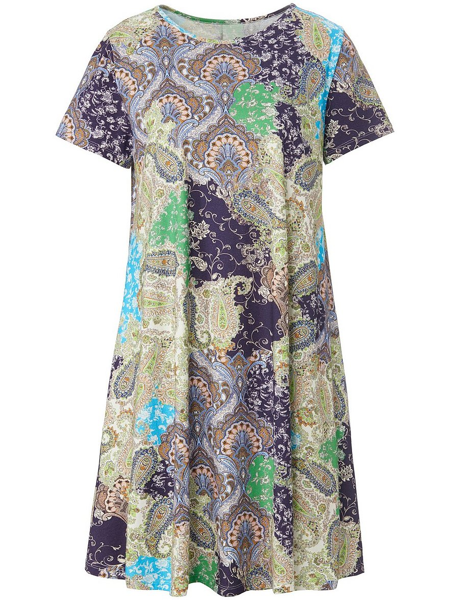 green cotton - Jersey-Kleid  beige Größe: 48