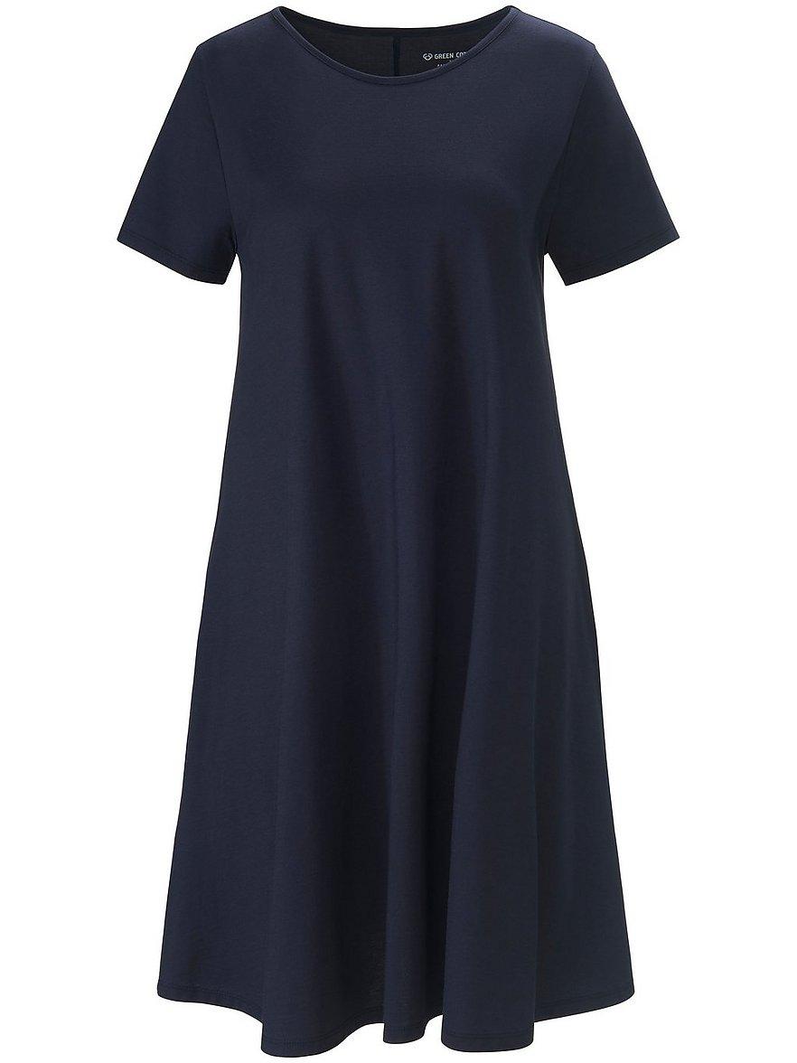 green cotton - Jersey-Kleid  blau Größe: 36